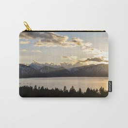 Top Floor Lake Tahoe Carry-All Pouch