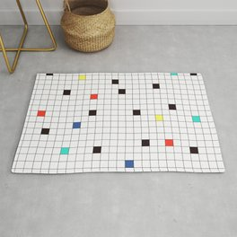 Crossword Puzzle #GraphicDesign #Minimalism Rug