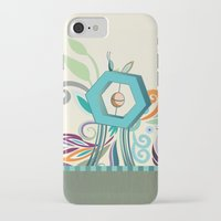 polygon iPhone & iPod Cases featuring Polygon monument by /CAM