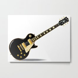 Solid Blues Metal Print