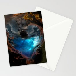 Love of the high seas Stationery Cards
