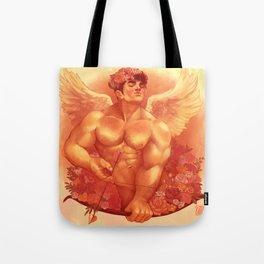 Eros In Roses Tote Bag