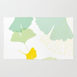 Gingko Leaves Rug