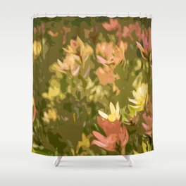Protea fields Shower Curtain