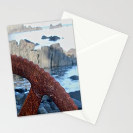 Rusty Wheel Photography Print Stationery Cards