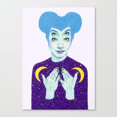 Bablien I -  Space Queen Canvas Print