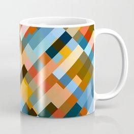 multicolored striped pattern Coffee Mug