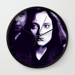 Jodie Foster Silence of the lambs Wall Clock