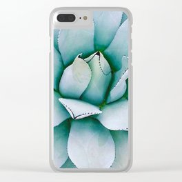 BEAUTY OF NATURE5-SUCCULENT Clear iPhone Case