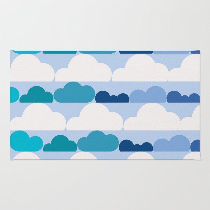 Simply Clouds Rug