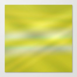 green light ombre Canvas Print