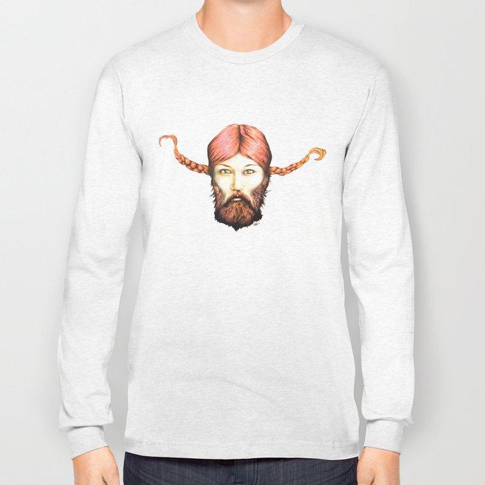 Wendy, The Bearded Lady Long Sleeve T-shirt