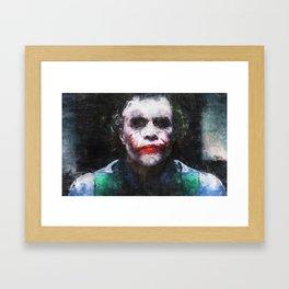 The Joker - The Clown Prince Of Gotham Framed Art Print