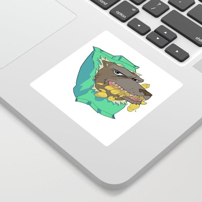 Chip Wolf Sticker