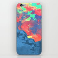 rushmore iPhone & iPod Skins featuring Mt Rushmore by Cale potts Art