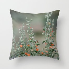 Desert Wildflower - 2 Throw Pillow