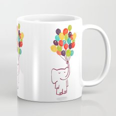 Flying Elephant Mug
