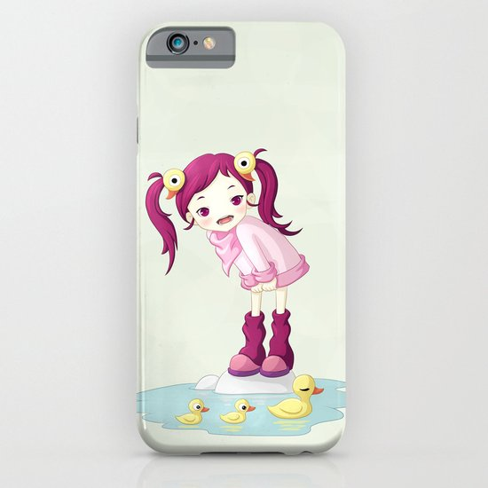 Puddle Ducks iPhone & iPod Case