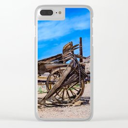 Calico Ghost Town - 7049, California Clear iPhone Case