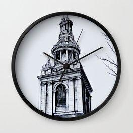 St. Mary-Le-Bow Church, London Wall Clock