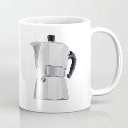Coffee Moka Pot polygon art Coffee Mug