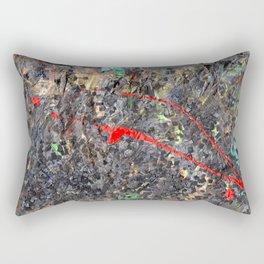 Hamlet Inspired Mixed Media Rectangular Pillow