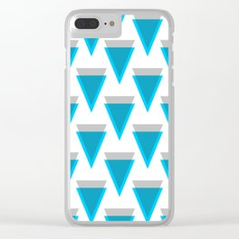 Verge - Crypto Fashion Art (Large) Clear iPhone Case