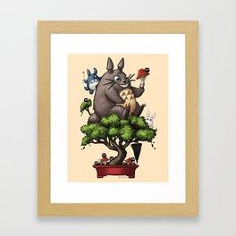 Forest Guardian Bonsai  Framed Art Print