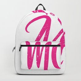 Moto Mom Motorcyclist Mom Motocross Mother's Day Backpack