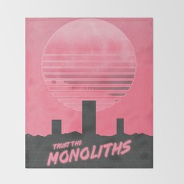 Monolithic Trust Throw Blanket