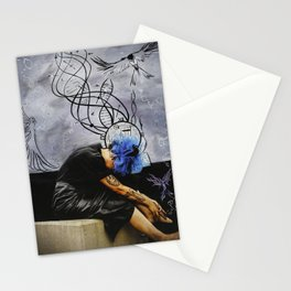 Molecules Stationery Cards