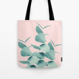 Eucalyptus Leaves Green Blush #1 #foliage #decor #art #society6 Tote Bag