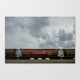Canada Train Canvas Print
