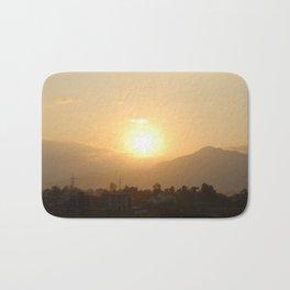 Sun Set Across Nagarjuna Bath Mat