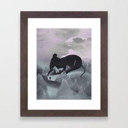 I Will Never Leave You Framed Art Print