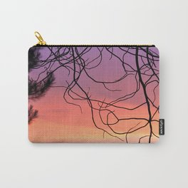 Purple sunset. At the woods Carry-All Pouch