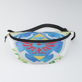 One Shield to Hyrule Them All Fanny Pack