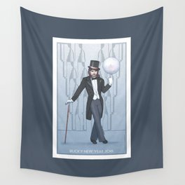 Bucky New Year 2018 Wall Tapestry