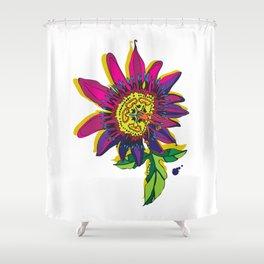Passiflora edulis Shower Curtain