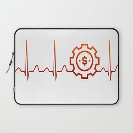 BUSINESS MANAGER HEARTBEAT Laptop Sleeve