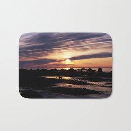 sunset surprise Bath Mat