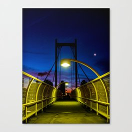Just a Pedestrian Sunrise Canvas Print