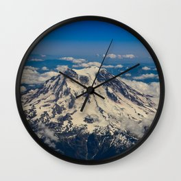 Pacific Northwest Aerial View - II Wall Clock