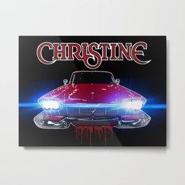 Christine Road Rage Metal Print