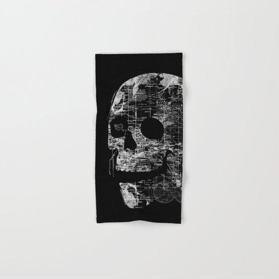 Skull Wanderlust Hand & Bath Towel