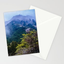 Japanese forest 2 Stationery Cards