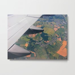 High Up in the Sky Metal Print