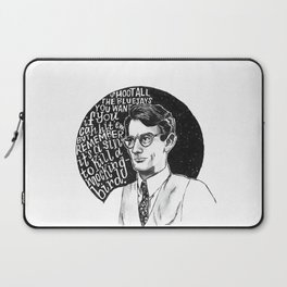 Atticus Finch Laptop Sleeve