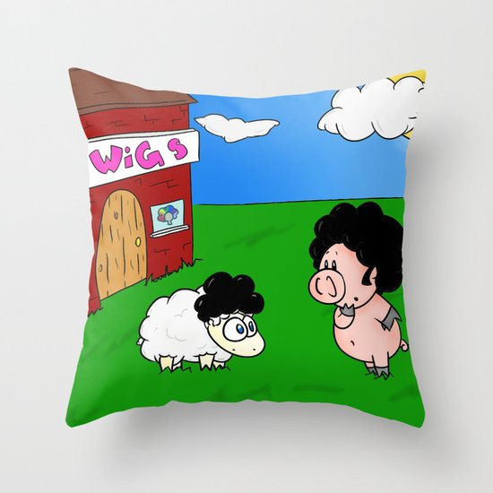 Impostor! Throw Pillow