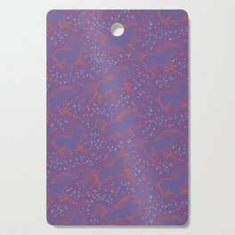Wild Horses by Friztin - Ultra Violet Cutting Board